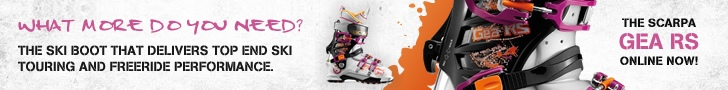 Scarpa Gea RS Banner Fall 2012