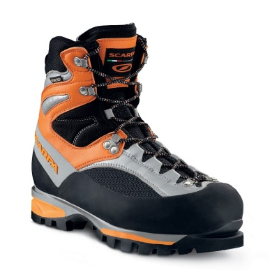 scarpa jorasses pro GTX orange silver
