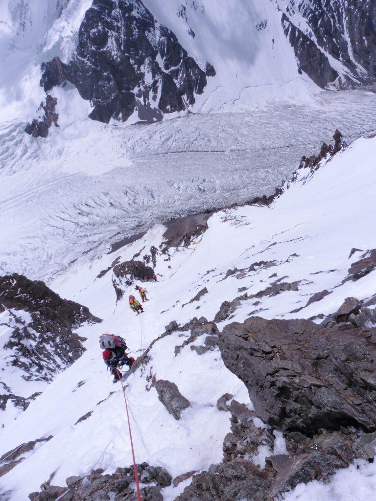 Climbing K2