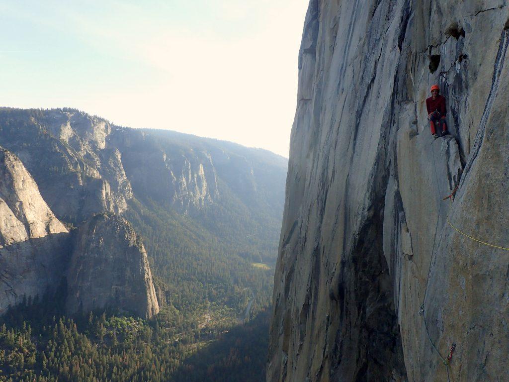 Climbing El cap