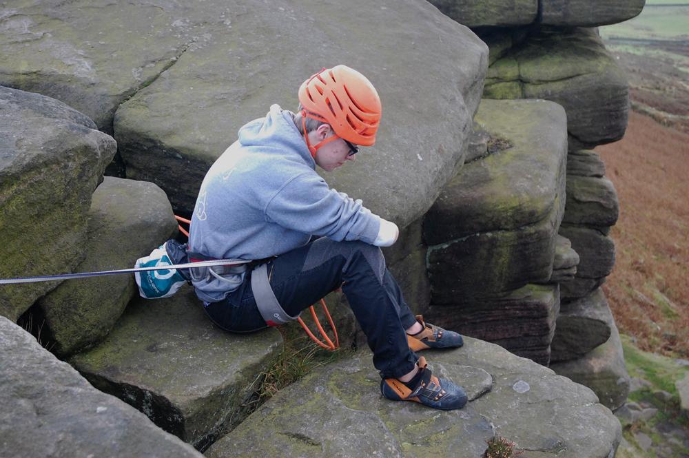 trad climbing scarpa