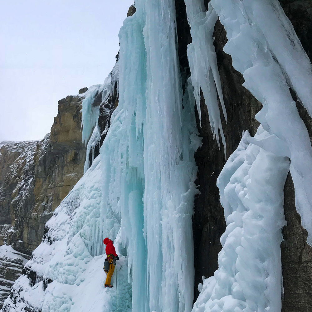 Ice Wall Scotland