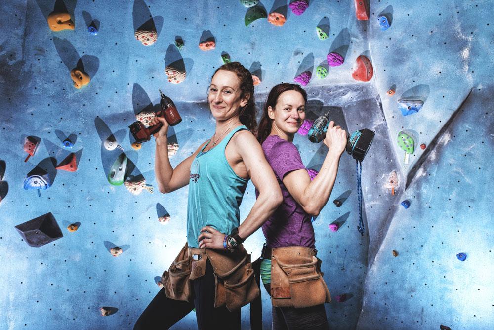 Women in Climbing