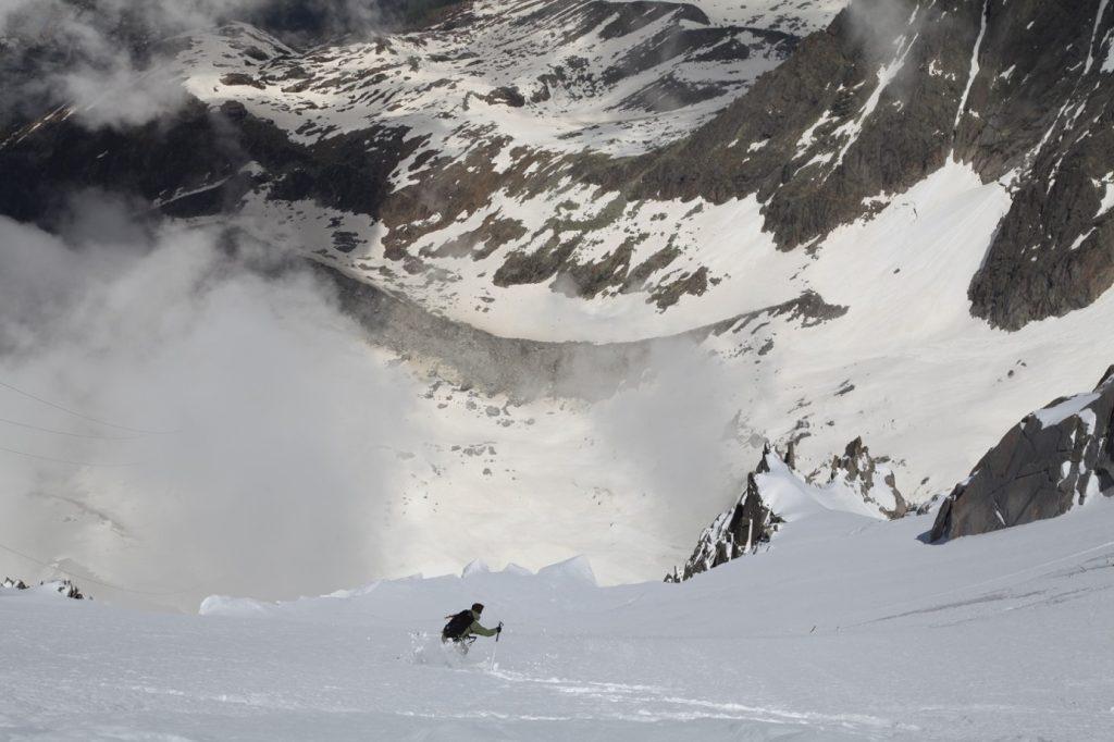 First ski post lockdown