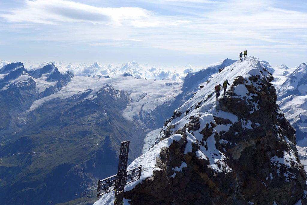Summit ridge of the Matterhorn