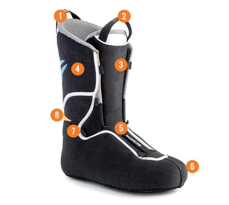 Image is loading Garmont-Prophet-NTN-Telemark-Ski-Boots-Mondo-Size-