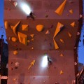 Testing IFSC lead world cup in Briancon
