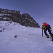 Beinn Bhan, Giants Wall, photo Hamish Frost
