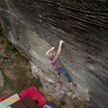 The Dark Side E9 7B or 7C+ Highball (Ground Up)