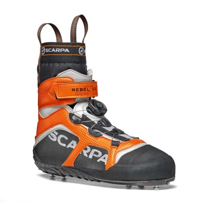 Scarpa 0013 70900-000-1 REB-ICE Blk-Ora Rebel Ice   Black - Orange