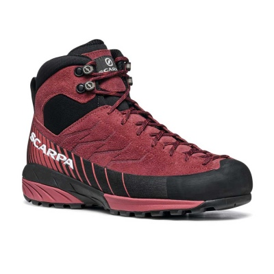 Scarpa 0026 72096-202-2 MES-MID-GTX-W BrR-Red Mescalito Mid GTX WMN   Brown Rose - Mineral Red