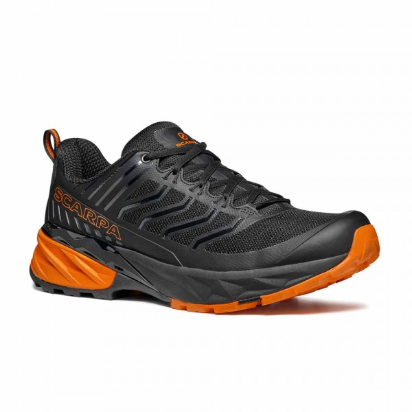 Scarpa 0014 33080-350-1 RUS Blk-Ora Rush   Black - Orange