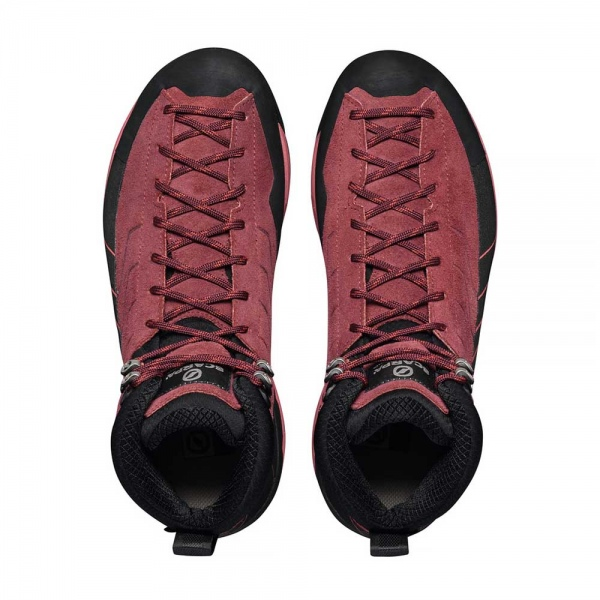 Scarpa 0028 72096-202-2 05 MES-MID-GTX-W BrR-Red Mescalito Mid GTX WMN   Brown Rose - Mineral Red