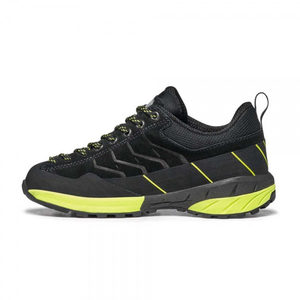 Scarpa 0025 30472-203-1 02 MES-LAC-KID-GTX Blk-Gre Mescalito Lace Kid GTX   Black - Acid Green