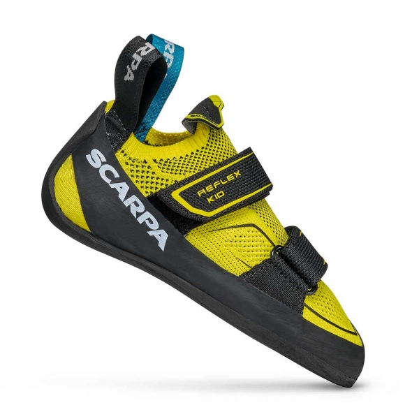 Scarpa 0000 70070-003-1 REF-V-KID Yel-Blk Reflex V Kid   Yellow - Black