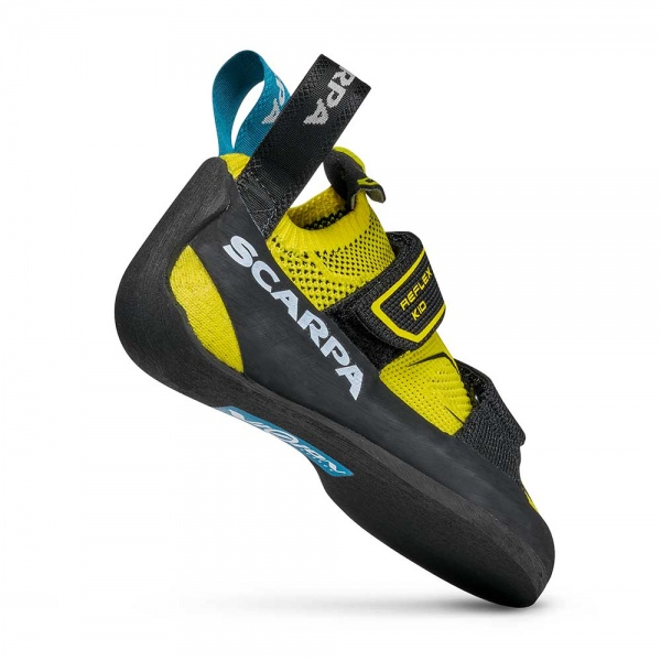 Scarpa 0002 70070-003-1 05 REF-V-KID Yel-Blk Reflex V Kid   Yellow - Black