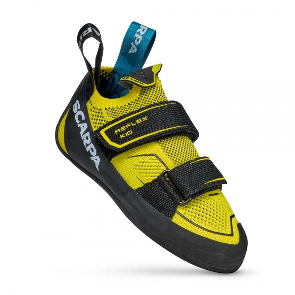 Scarpa 0006 70070-003-1 01 REF-V-KID Yel-Blk Reflex V Kid   Yellow - Black