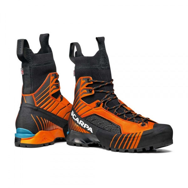Scarpa 0007 71073-250-1 06 RIB-TEC-2.0-HD Blk-Ora Ribelle Tech 2.0 HD   Black - Orange