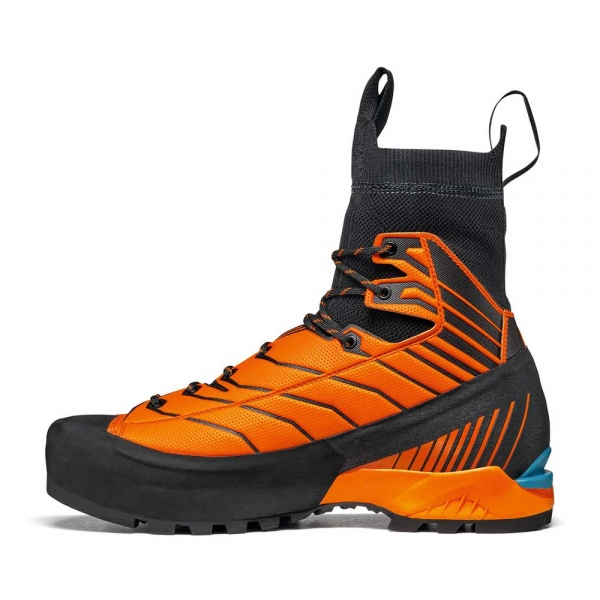Scarpa 0011 71073-250-1 02 RIB-TEC-2.0-HD Blk-Ora Ribelle Tech 2.0 HD   Black - Orange
