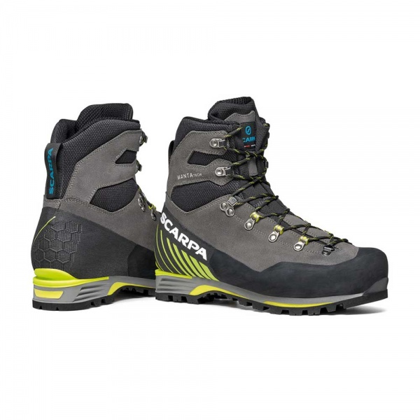 Scarpa 0013 87506-201-1 06 MAN-TEC-GTX Sha-Lim Manta Tech GTX   Shark - Lime