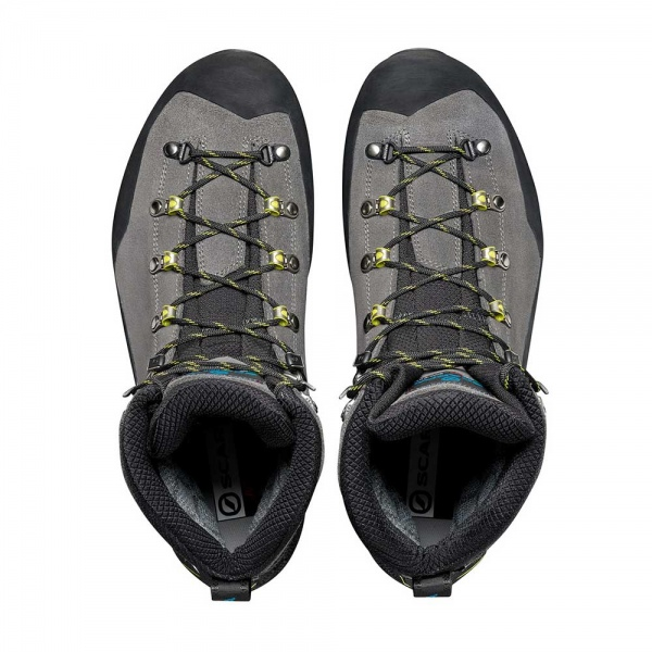 Scarpa 0014 87506-201-1 05 MAN-TEC-GTX Sha-Lim Manta Tech GTX   Shark - Lime