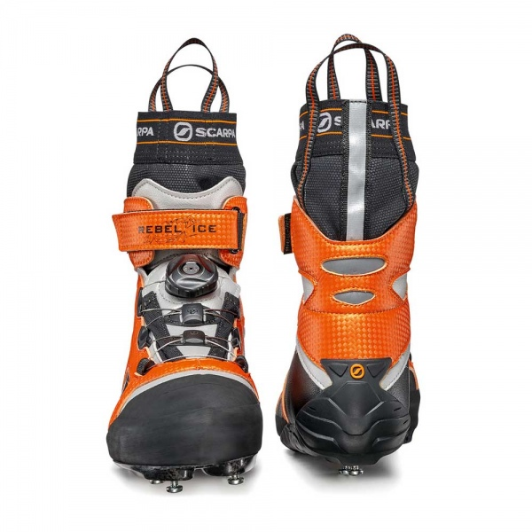 Scarpa 0016 70900-000-1 03 REB-ICE Blk-Ora Rebel Ice   Black - Orange