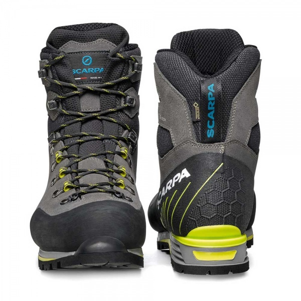 Scarpa 0016 87506-201-1 03 MAN-TEC-GTX Sha-Lim Manta Tech GTX   Shark - Lime