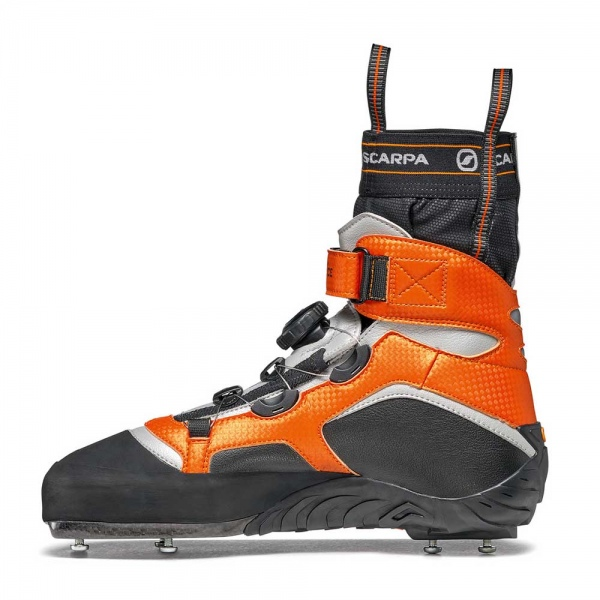 Scarpa 0017 70900-000-1 02 REB-ICE Blk-Ora Rebel Ice   Black - Orange